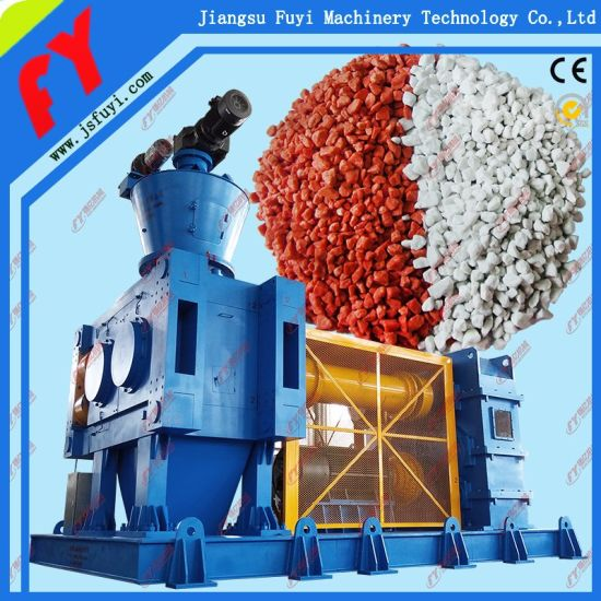 Ammonium chloride roller press extrusion line with CE certificate