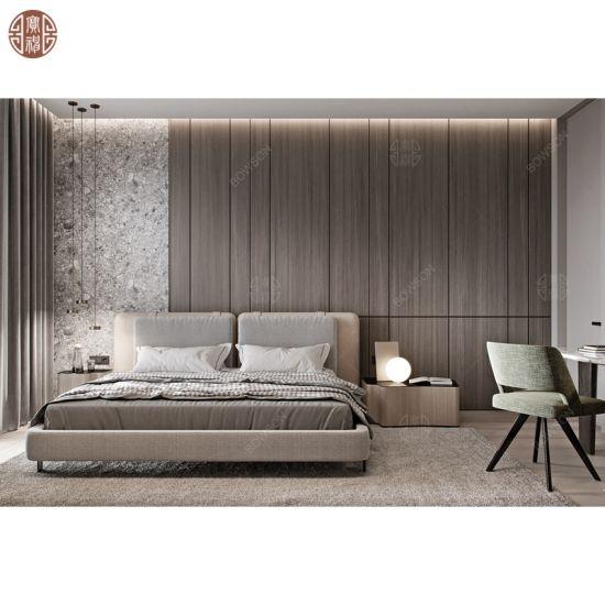 Modern Hotel Apartment Bedroom Furniture Supply Wooden Headboard Kitchen Cabinet