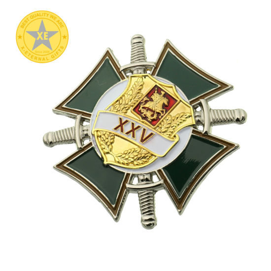 Hard Enamel Attractive Design Metal Pin Badge pictures & photos