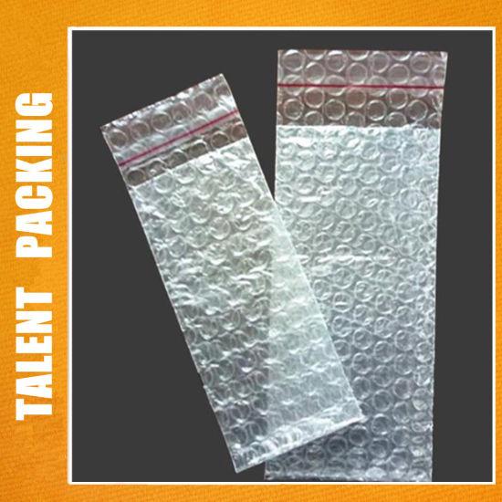 Custom Clear Self-Adhesive Bubble Bag Packaging Bag
