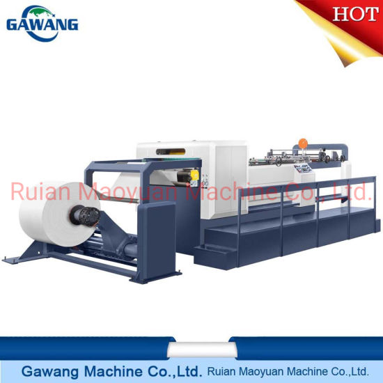 Auto High Speed High Quality Rotary Paper Cutting Sheeting Machine with CE