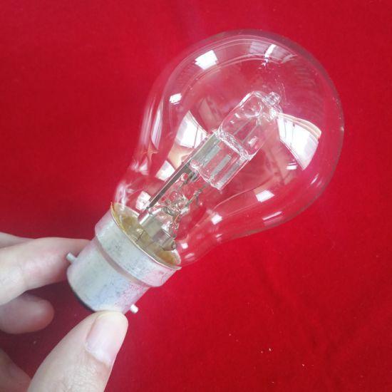 A55 Clear 53W Tungsten Halogen Lamp