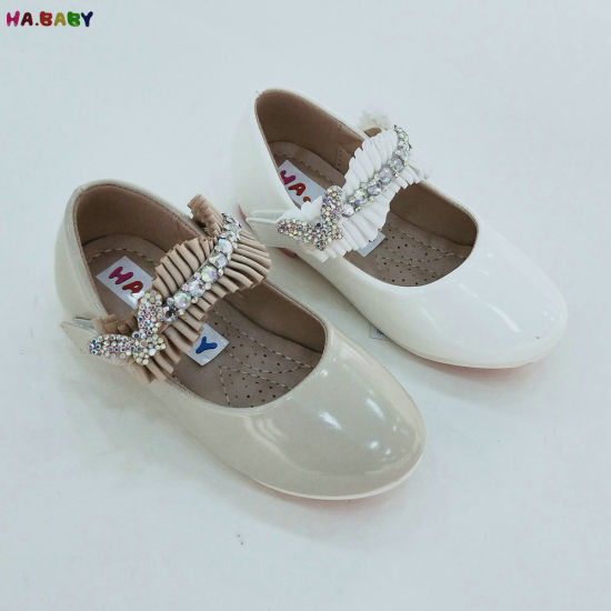 Last Price Flower Wholesale Shoes in China Girls Princess Shoes