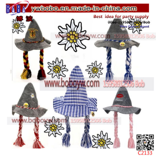 Promotion Hat Felt Costume Oktoberfest Bavaria Dress Carnival Hat (C2133) pictures & photos