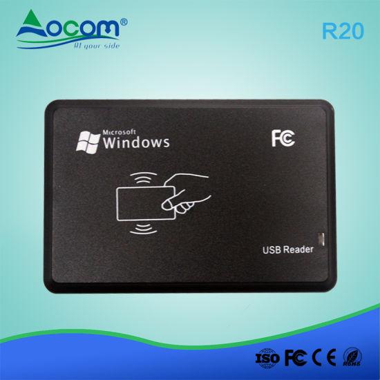 Ocom R20 RFID Smart Card Reader USB Plug and Play USB/PS2/RS232 Port