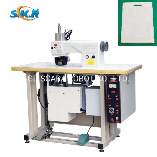 Ultrasonic Sealing and Sewing Machine for Cloth Leather