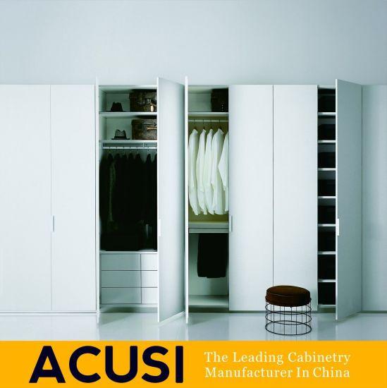 Fancy Wardrobe Furniture Wooden Panel Bedroom Wardrobe Acs3 H67