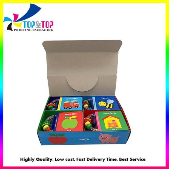 Children Board Game Book Set Printing with Box