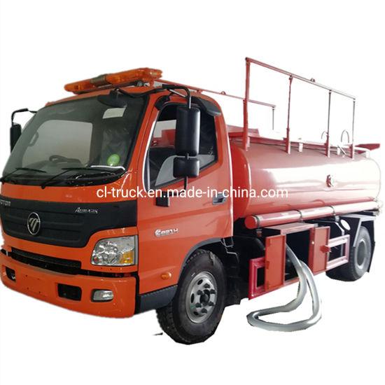 Foton Aumark Aoling Model 4X2 6cbm 7cbm 8cbm Fuel Tank Oil Transport Truck Diesel Gasoline Delivery Vehicle Undertake Bulk Orders Isuzu HOWO Dongfeng Chassis