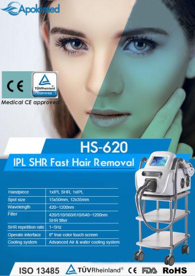 China Apolo IPL Laser Hair Removal Machine IPL Acne