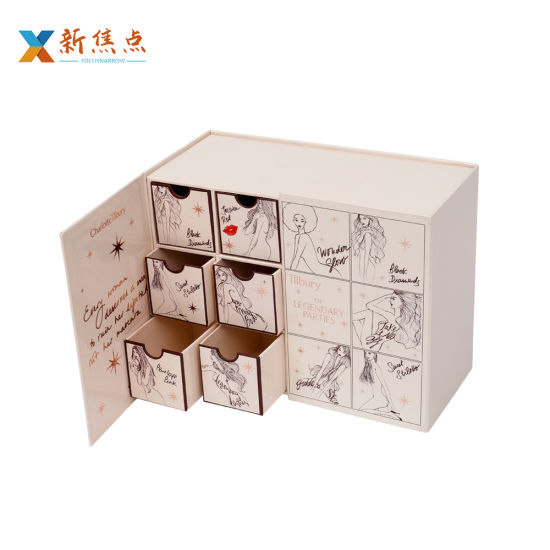 Hot Sale Printing Multi-Drawer Product Packaging Gift Box