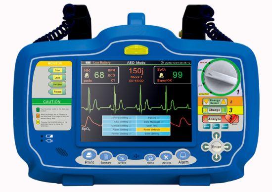 (MS-390D) Multi-Used Portable Automatic External Defibrillator