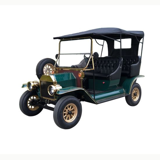 Electric Tourist Sightseeing Retro Vintage Classic Car with Ce