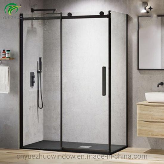 China Black Cubicle Glass Shower Room/ Door/ Screen