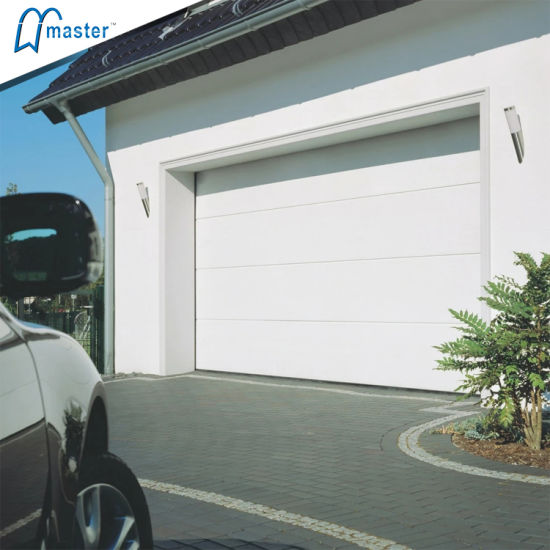 Sectional Automatic Garage Door with Finger Protection