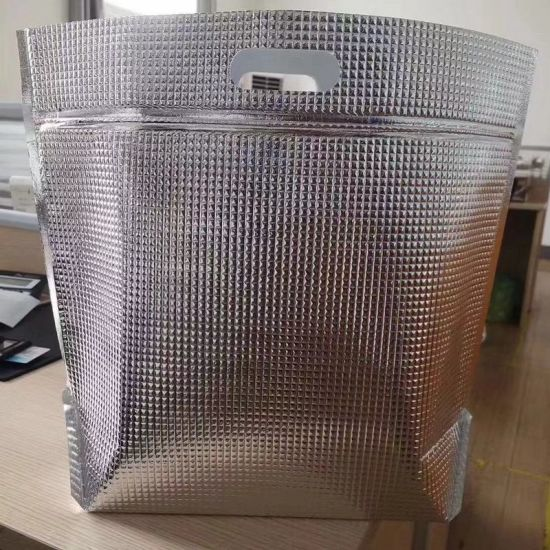 Wholesale Custom Cheap Disposable Thermal Frozen Insulated Cooler Bag