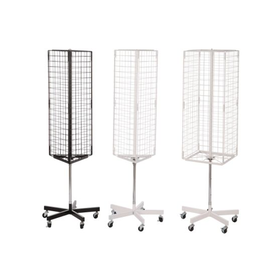Rotary Three-Sided Net Type Display Rack