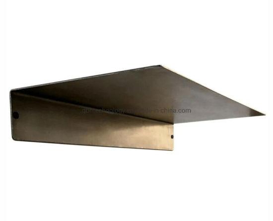 Powder Coated Industrial Forged Steel Linear Floating Shelf