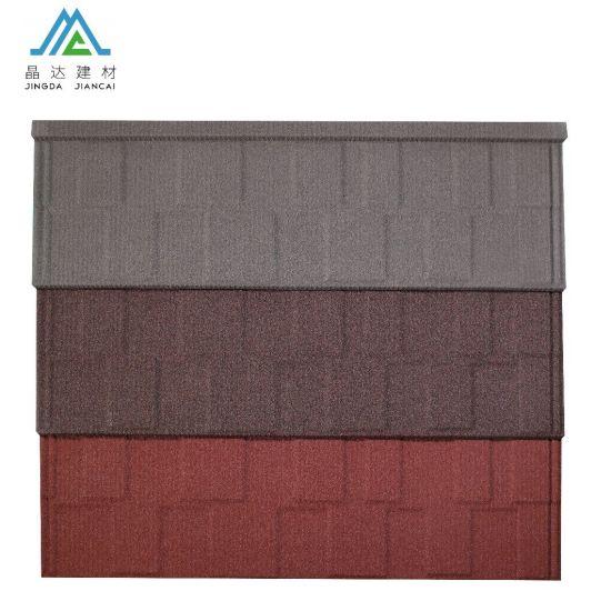 China Kerala Aluminum Zinc 120g Per Square Stone Coated Roofing Sheet Ceramic Roof Tiles Price China Colored Roof Tile Stone Metal Tile