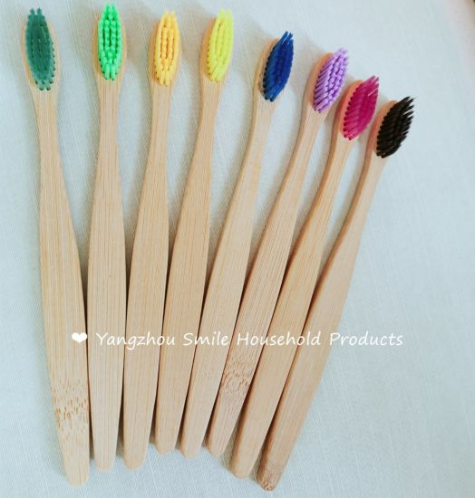 Yangzhou Manufacture Bamboo Charcoal Toothbrushes with OEM Service