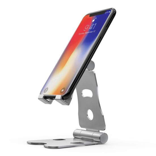 Lz-76A Aluminum Foldable Tablet Holder Folding Phone Mobile Stand
