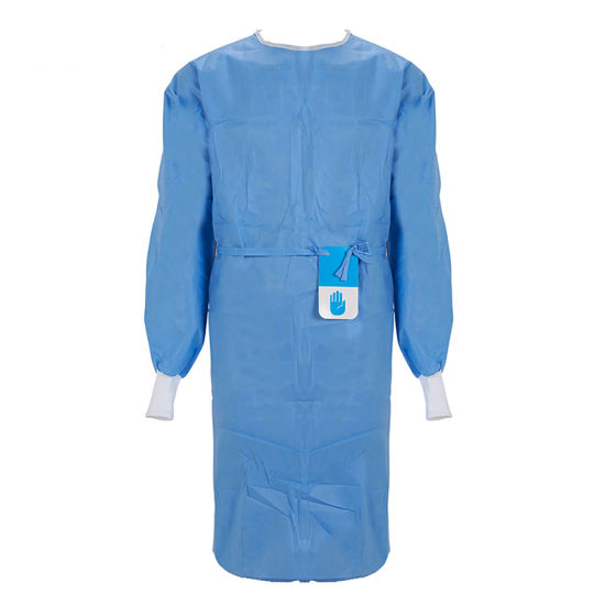 Disposable Isolation Gown Nonwoven PP Isolation Gowns