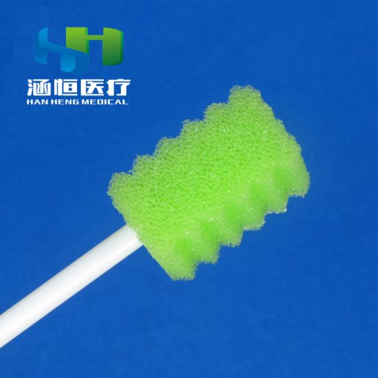 8705 Disposable Sponge Stick Swab Medical Cleaning Swab