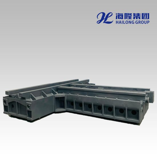 Monthly Deals Large Ductile / Gray Iron Casting CNC Gantry Milling Machine Tools Frame Base Bed Customized Sand Die Casting