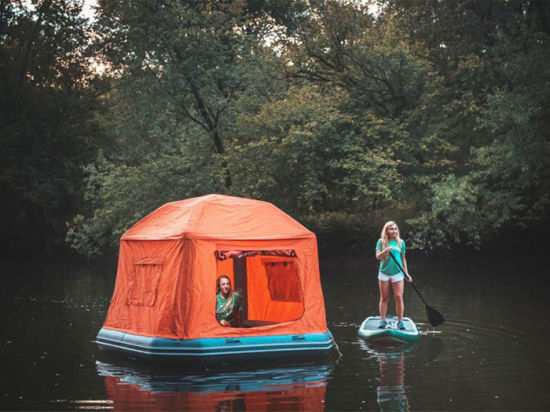 Inflatable Floating Tent Camping Shelter in Water pictures & photos