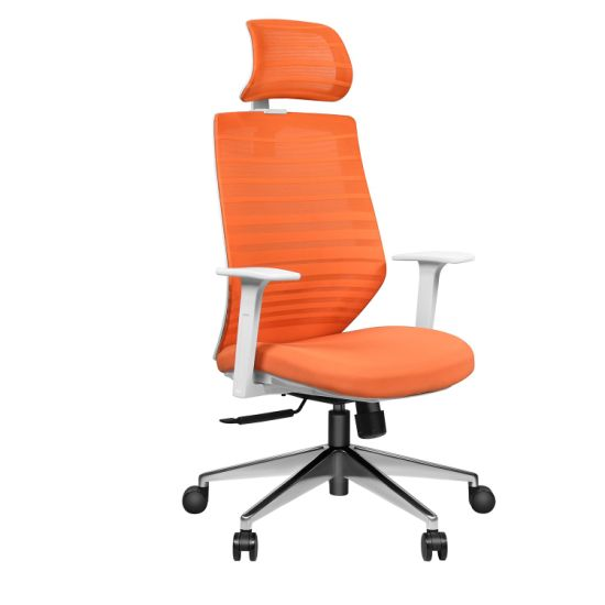 Armrest Contolling High End Ergonomic Office Chair in Full Mesh with Footrest