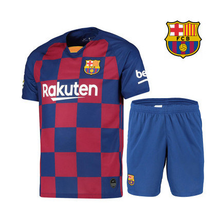 New Barcelona Jersey 19 20 Messi Griezmann Adult Children S Football Uniform China Soccer Jersey And Football Jersey Price Made In China Com