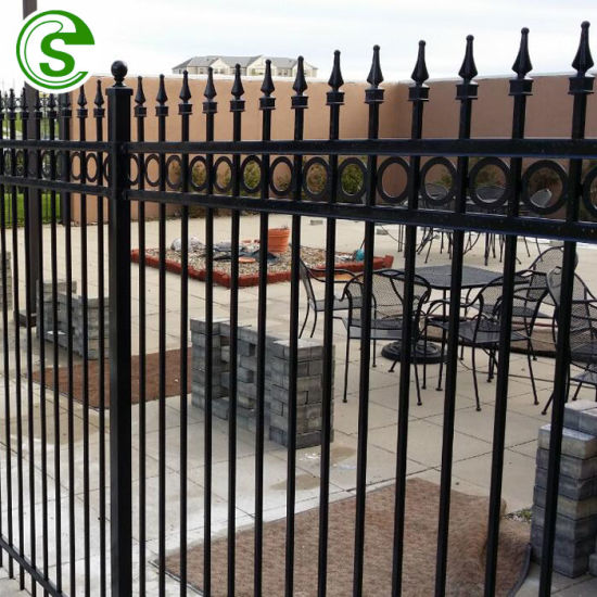 Cheap Decorative Wrought Iron Fencing for Mall / Park