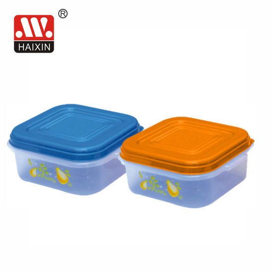 Square Plastic Box for Kitchen Food Storage Container