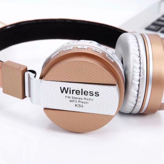 Direct Sale Portable Active Noise Cancelling Bluetooth Wireless Headset Silent Disco Headphone Earphone