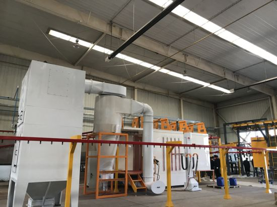 Automatic Electrostatic Powder Coating Machine Euqipment Painting Production Line
