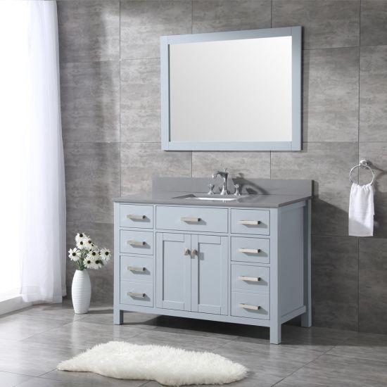 China High Quality 48 Inch Modern Solid, 44 Bathroom Vanity Cabinet
