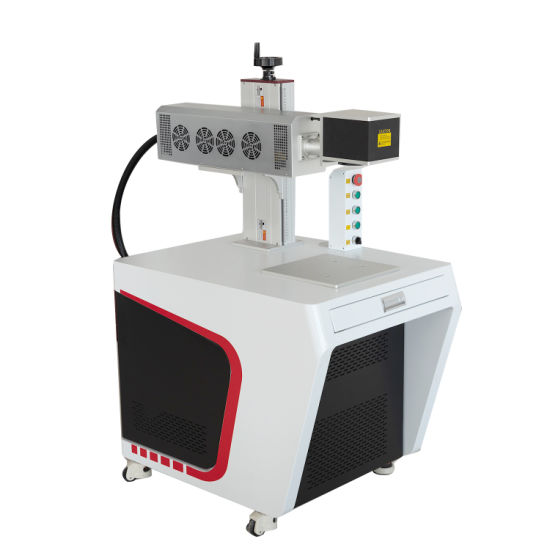 CNC Portable Davi Synrad Coherent 30W 55W 60W CO2 Optic Galvo Laser Marking Engraving Cutting Machine for Wood Leather Acrylic