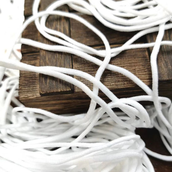 China Masks Cord Disposable Mask Earloop Elastic Rope Surgical