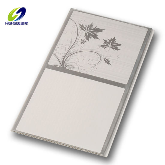 China Covering Decorative Waterproof Fireproof PVC WPC Wall Panel False Ceiling