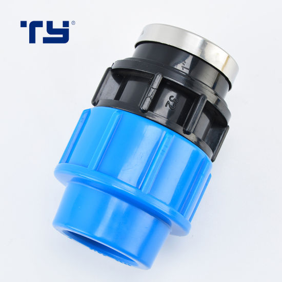 Factory Price Good Quality PP Plastic Pipe Irigation Compression Joint Fitting ISO14236 BS