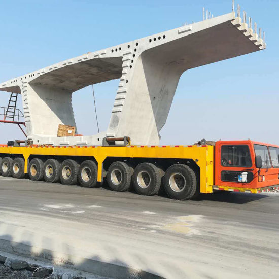 320t Precast Beam Carrier for Precast Bridge Transport