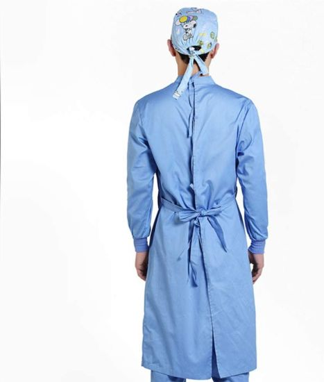 Medical Isolation Gown Disposable Safety Protection Dress Coverall for Hospital for Laboratory