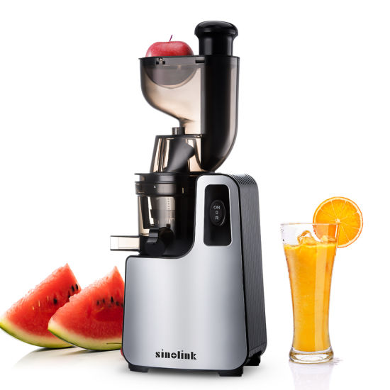 High Quality Food Grade Low Speed Big Mouth Slow Juicer
