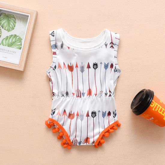 Summer Cotton Cool Body Suit Infant Baby Clothes Rompers