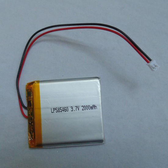 Lp585460 2000mAh Lithium Polymer Battery for Phone Battery/Power Bank