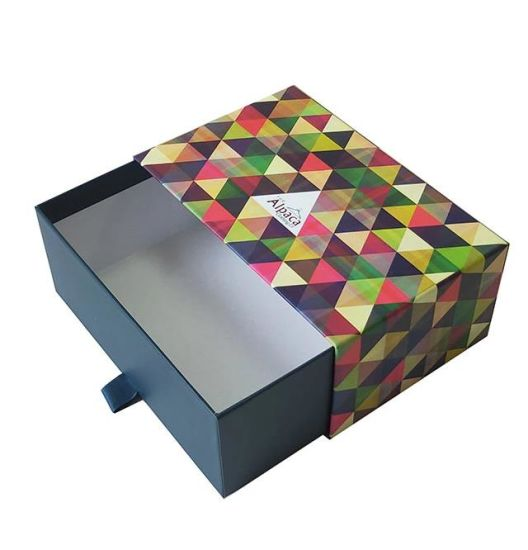 Pull out Cardboard Drawer Rigid Gift Boxes with Drawers, Drawer Chocolate Box, Luxury Drawer Box