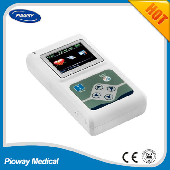 3-Channel 24 Hours Dynamic ECG Holter Monitor (TLC9803)
