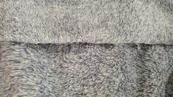 Microfiber Polyester Cationic Sherpa PV Blush Garment Blanket Bedding Home Textile Knitting Fleece Fabric