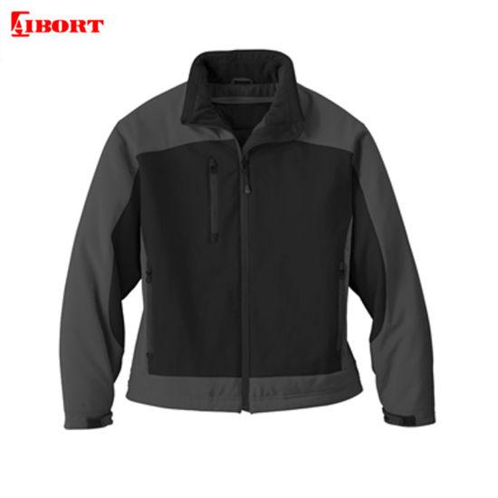 Aibort Custom Windbreaker Softshell Sport Jacket for Cold Winter (L07501-A)
