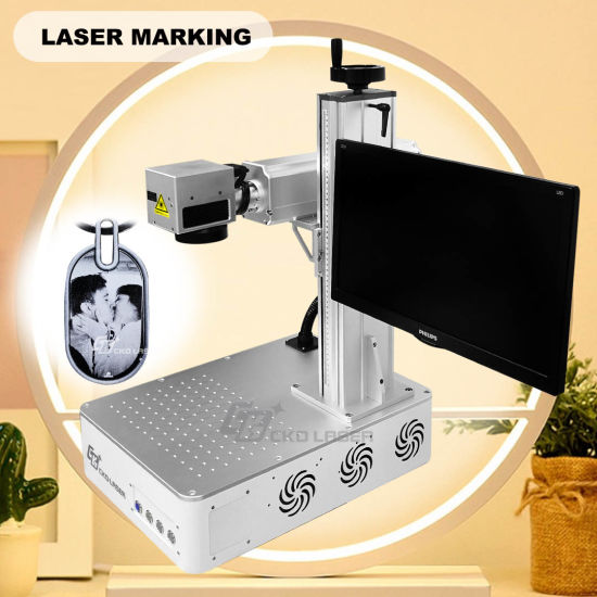 Manual Focus All-in-One Laser Engraving Marking Machine